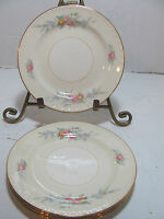 HOMER LAUGHLIN CASHMERE EGGSHELL NAUTILUS SET OF 4 BREAD & BUTTER PLATES