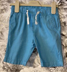 Boys Age 3-4 Years - Blue Shorts