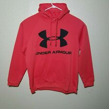 Under Armour Hoodie 4XL Coldgear Rival Pullover Fleece Logo Cotton Blend Loose