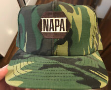 Napa Auto Parts Vtg Camo Hat Snapback Made In USA Louisville Manufacturing Group
