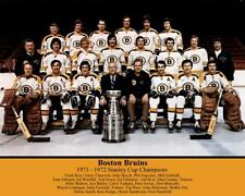1972 BOSTON BRUINS TEAM PHOTO 8X10