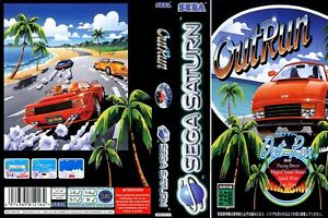 - Outrun Saturn Replacement Case + Box Art Work Cover Only