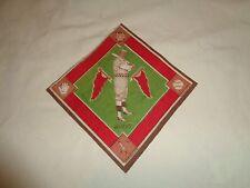 Vintage 1914 B18 Blankets Brooklyn Dodgers Zack Wheat Green Infield Mint FREESHP