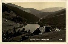 Krausebauden Labská přehrada Tschechien Böhmen 1939 Talsperre Stausee gelaufen