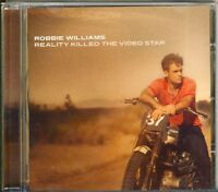 ROBBIE WILLIAMS - reality killed the video star  CD 2009