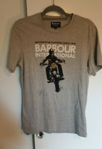 Barbour International Motorcycle Tshirt used, in great condition size M