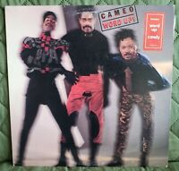 Cameo WORD UP! LP 1986 Polygram Records Promo ft. Candy + Hype Sticker  VG/VG
