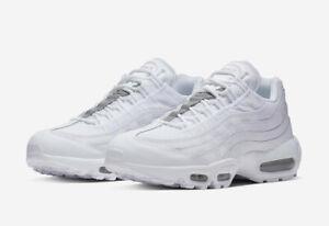 Nike Air Max 95 Essential Triple White Pure Platinum (AT9865-100) Men's Shoes