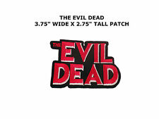 The Evil Dead embroidered patch