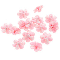 30x New Pink Flowers FIMO Polymer Clay Bead 20mm 110712