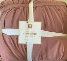 Pottery Barn Teen Pucker Up Comforter Xl Twin Mauve Blush