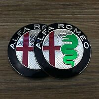 2 Fregi Stemma Alfa Romeo 147 155 156 159 166 Giulietta Mito Brera nuovo logo