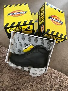 Dickies Antrim Safety Work Boots UK Size 7 / FA2333 Steel Toe Cap BNIB