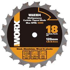 WORX WA8304 120mm Multi-Purpose Blade for Wood/Metal/Tile