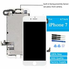 """For iPhone 7 4.7"""" LCD Screen White Display Touch Digitizer Assembly Front Camera"""