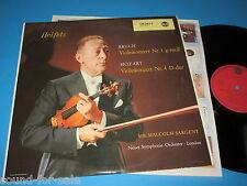 Heifetz, Sargent / Bruch, Mozart: Violinkonzert (RCA LM 2652) - LP