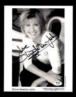 Olivia Newton John PSA DNA Coa Signed 8x10 Photo Autograph