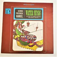 George Frederick Handel, Hague Philharmonic Orch: Water Music: Nonesuch LP Vinyl