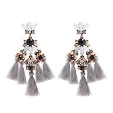 Fashion Bohemian Earrings Womens Long Tassel Fringe Boho Dangle Earrings Jewelry