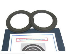 """NEW 6 1/2"""" WOOFER FOAM SURROUND REPAIR KIT BABY ADVENT II  2 TWO"""