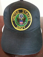 United States Army Military Ball Cap Hat / Black