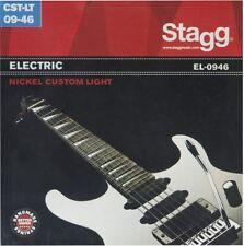 Jeux de 6 Cordes Guitare ELECTRIQUE Acier Custom Light