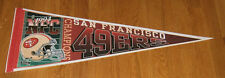 1994 San Francisco 49ers NFC Champs pennant Super Bowl XXIX Steve Young