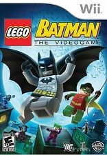 Lego Batman - Nintendo Wii NEW