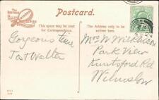 Mrs Wilkinson. Park View, Knutsford Rd, Wilmslow 1910 - Windermere    (QR1464)