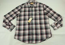 BNWT Hugo Boss Classic Plaid Flannel Button-up Shirt Size XXL 100% Authentic