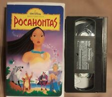 Walt Disney Pocahontas VHS Movie VCR Tape