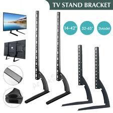 More details for universal table top tv stand legs vesa pedestal mount bracket led lcd tv 14-65