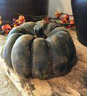 Primitive Handmade Scented  Beeswax  Large Chunky Pumpkin Halloween/Fall