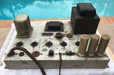 Vintage Magnavox AMP 481 C-27 Tube Amplifier *  FOR PARTS OR REPAIR *