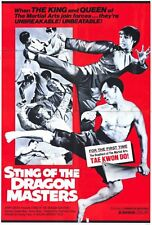 STING OF THE DRAGON MASTERS Movie POSTER 27x40 Angela Mao Jhoon Rhee Billy Chan