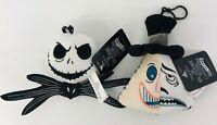 Nightmare Before Christmas Disney Jack Mayor Backpack Clip Halloween Set Of 2