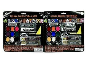 2-PACK Deluxe Halloween Makeup Kit Cosplay Reenactment Theater Stage Special FX