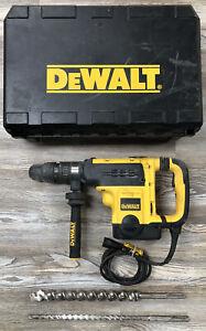 "Dewalt D25721 1-7/8"" SDS Max Corded Heavy Duty Rotary Hammer Drill w/ 2 Bits"