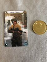 STAR WARS LEGION - Limited Edition Recruitment Kit Coin And Card Rebels