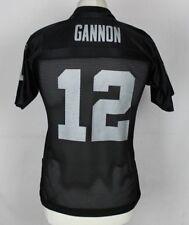 Gannon #12 Oakland Raiders Camiseta De Fútbol Americano jóvenes medio Reebok Nfl