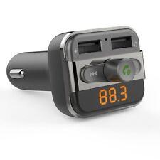 USB Perbeat Bluetooth Car Fm Transmitter 2 Charging Ports Music Controls 3 4a Ou
