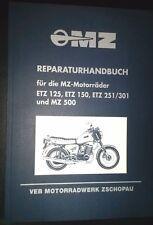 Reparaturanleitung Reparaturbuch MZ ETZ 125 150 251/1 301 500 IFA