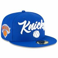 New York Knicks New Era 2020 NBA Draft OTC 59FIFTY Fitted Hat - Blue