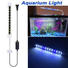 "LED Aquarium Light Full Spectrum 18"" Fish Tank Light White Blue Color AC 85-265V"
