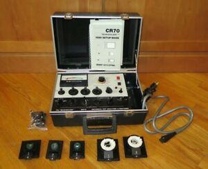 Sencore CR-70 Beam Builder CRT Tube Analyzer/Rejuvenator/Restorer