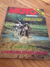 MOTO JOURNAL 1973 N° 145 Harley Rougerie , Enduro Troyes , Salon Milan , poster