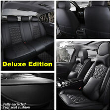 Luxury Car Seat Cover 6D Full Surround Seat Cushion Breathble Pad PU Leather
