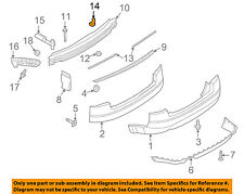 AUDI OEM 02-08 A4 Quattro Rear Bumper-Strap 8E0807329A