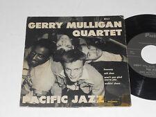 "GERRY MULLIGAN QUARTET VG++ Pacific Jazz 7"" EP4-1 Chet Baker Chico Hamilton"