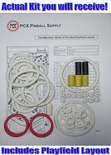 1991 Williams The Machine: Bride of Pin-Bot Pinball Rubber Ring Kit